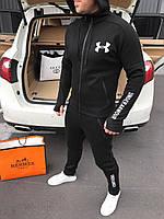 🔰 Мужской зимний черный спортивный костюм Under Armour (реплика)