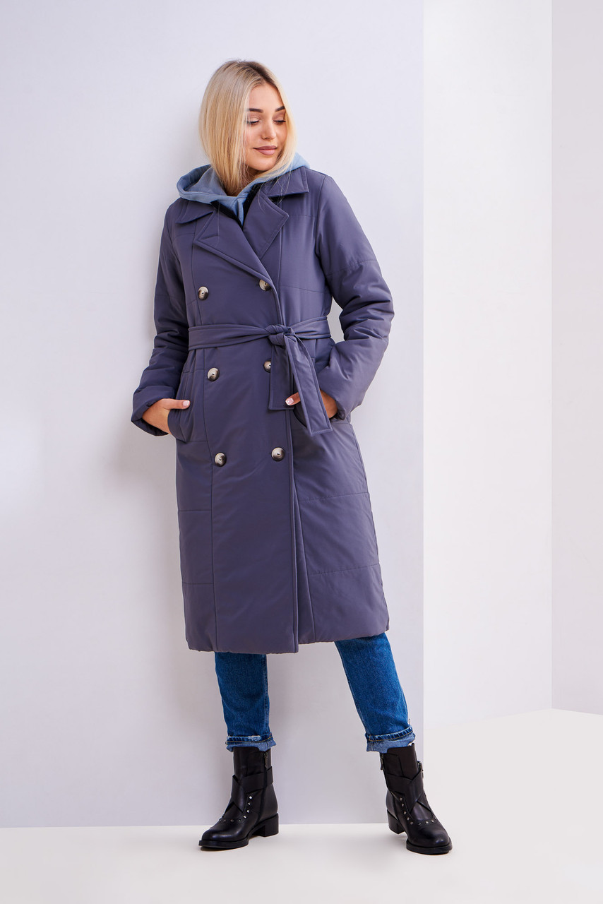 Подовжена куртка з 42 по 48 розміри