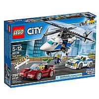 Конструктор Лего 60138 Стремительная погоня полиция LEGO City Police