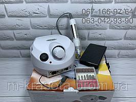 Фрезер для маникюра Nail Drill ZS-601, 65 Вт на 45000 об (белый)