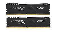 DDR4 2х4GB/2666 Kingston HyperX Fury Black (HX426C16FB3K2/8)