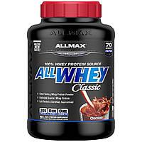 Смесь Чистого Сывороточного Протеина, Шоколад, AllWhey Classic, ALLMAX Nutrition, 2.27 кг.