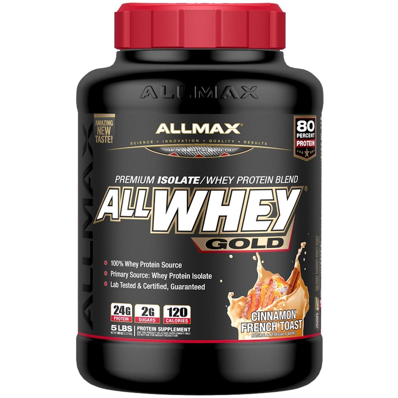 Премиум Изолят/Смесь Сывороточного Протеина, Французские Гренки с Корицей, Premium Isolate, ALLMAX Nutrition,