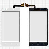 Сенсорный экран для мобильного телефона Fly IQ456 Era Life 2, белый