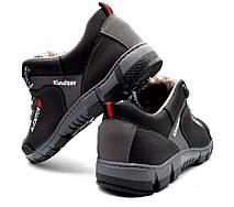 Кросівки чоловічі зимові прошиті, фото 3