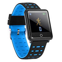 Фитнес-браслет F21 Black тонометр, пульсометр, шагомер, калории, для iPhone и Android, фото 5