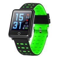 Фитнес-браслет F21 Black тонометр, пульсометр, шагомер, калории, для iPhone и Android, фото 6