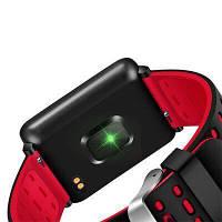Фитнес-браслет F21 Black тонометр, пульсометр, шагомер, калории, для iPhone и Android, фото 9