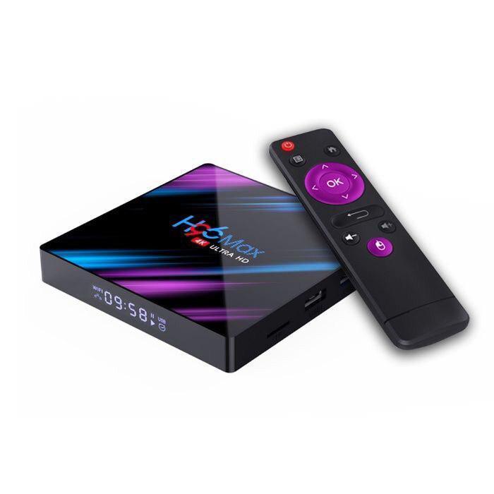 Smart TV Box H96 Max 4/64gb 4K Ultra HD Rockchip 3318 Android 9.0 iptv,торент тв,онлайн кинотеатр