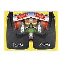 Fiat Scudo 1996-2007 гг. Брызговики (4 шт)