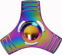 Спиннер TOTO Metal Clover Rainbow Хенд спиннер для рук пластиковый!