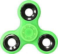 Спиннер TOTO Plastic Luminous Green Фиджет спиннер для рук с подшипниками антистресс пластик!