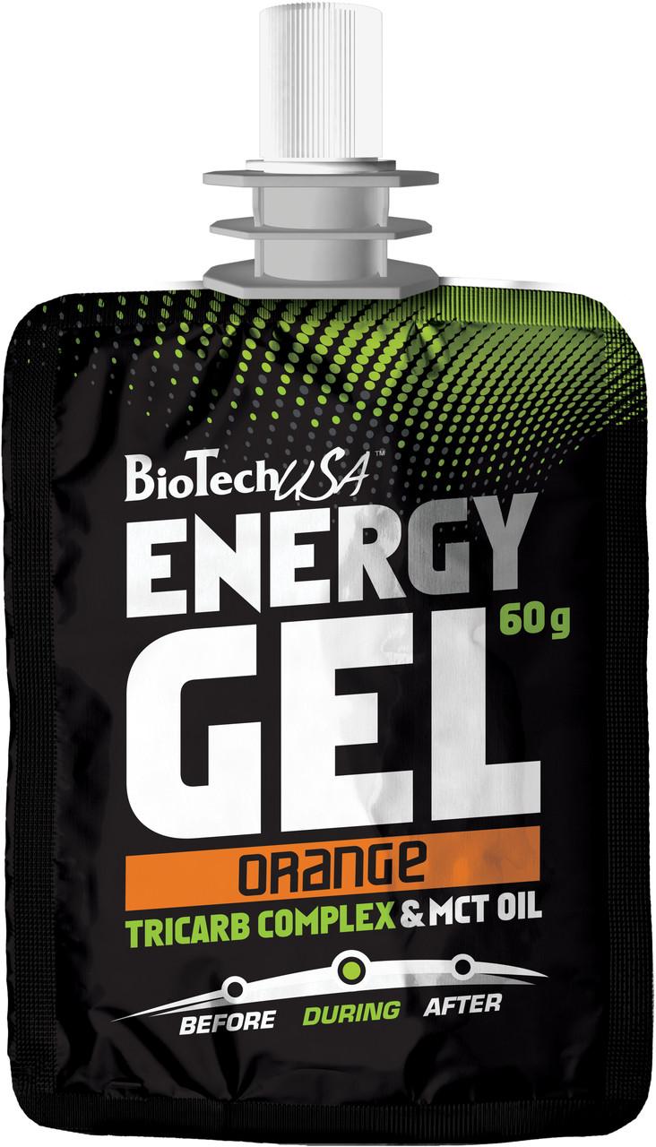 BioTech Energy Gel TriCARB & MCT 60g