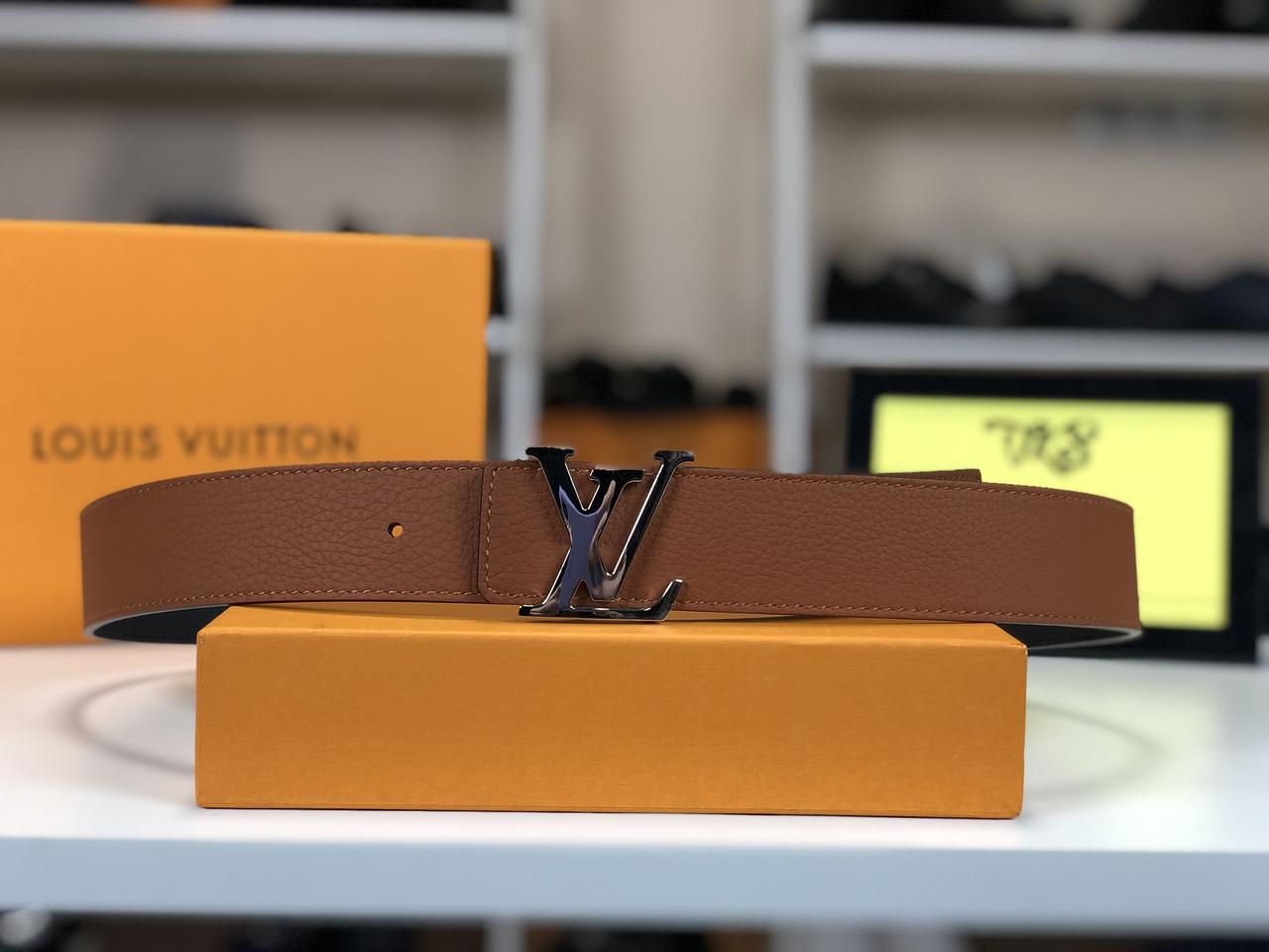 Двосторонній ремінь Louis Vuitton (Луї Віттон) арт. 61-08
