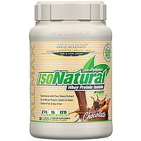 ALLMAX Nutrition, IsoNatural, Whey Protein Isolate, Chocolate, 32 oz (907 g), фото 1