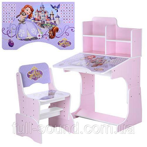 Детские парты - растишки и комплекты детской мебели в ассортименте