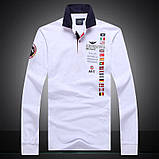 Aeronautica Militare original мужская рубашка поло аэронавтика милитари, фото 4