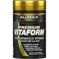 ALLMAX Nutrition, Premium Vitaform, мощный мультивитаминный комплекс, 60 таблеток