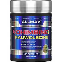 ALLMAX Nutrition, Yohimbine + Rauwolscine, 3.5 mg, 60 Capsaules
