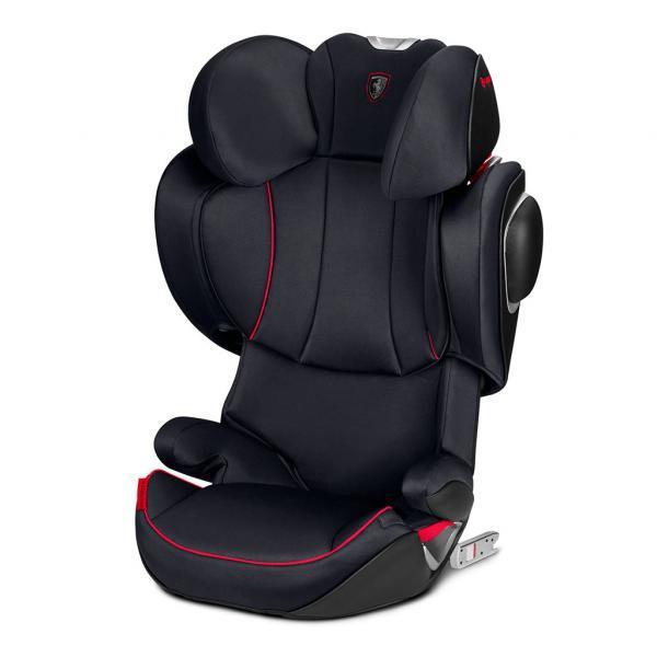 Автокресло Cybex Solution Z-fix Scuderia Ferrari Victory Black, черный (519000025)