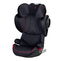 Автокрісло Cybex Solution Z-fix Scuderia Ferrari Victory Black, чорний (519000025)