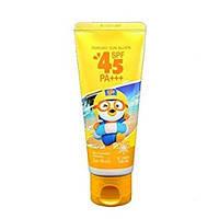 Солнцезащитный крем для детей Pororo Sunblock Cream SPF45 60 мл
