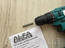 Шуруповерт Аl-fa alcd18-2 • 18V • 1500mAh, фото 2