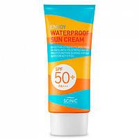 Солнцезащитный крем Scinic Enjoy Waterproof Sun Cream SPF50+ PA+++ 50 мл