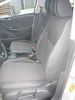 Volkswagen Passat B6 2006-2012 гг. Авточехлы (кожзам+ткань, Premium)