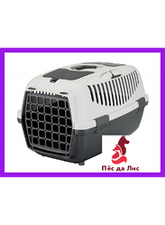 Переноска Trixie Capri 1 Transport Box XS серая для животных до 6кг