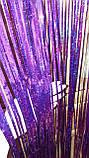 Дождик фиолетовый с супер голограммой (высота 4 метра, ширина 1метр), фото 4