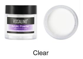 Акриловая пудра Rosalind Professional System прозрачная, 10гр