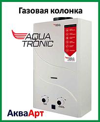 Колонка газовая проточная Aquatronic JSD20-A08 10 л белая