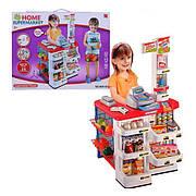 Детский игровой набор Супермаркет (магазин)  668-02 прилавок, касса, продукты, корзина, весы