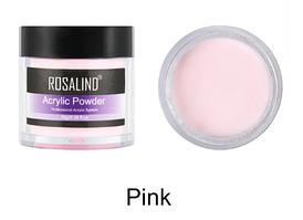 Акриловая пудра Rosalind Professional System розовая, 10гр