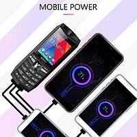 Мобильный телефон Servo R26 Gray 2.4'' 3000 мАч Power Bank TWS True Wireless Bluetooth 5.0, фото 9