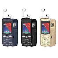 Мобильный телефон Servo R26 Gray 2.4'' 3000 мАч Power Bank TWS True Wireless Bluetooth 5.0, фото 10