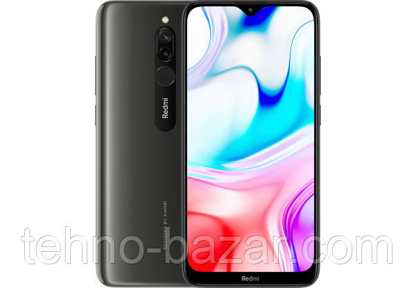 Смартфон Xiaomi Redmi 8 4/64gb Onyx Black Qualcomm Snapdragon 439 5000 мАч Android 9.0 (P)