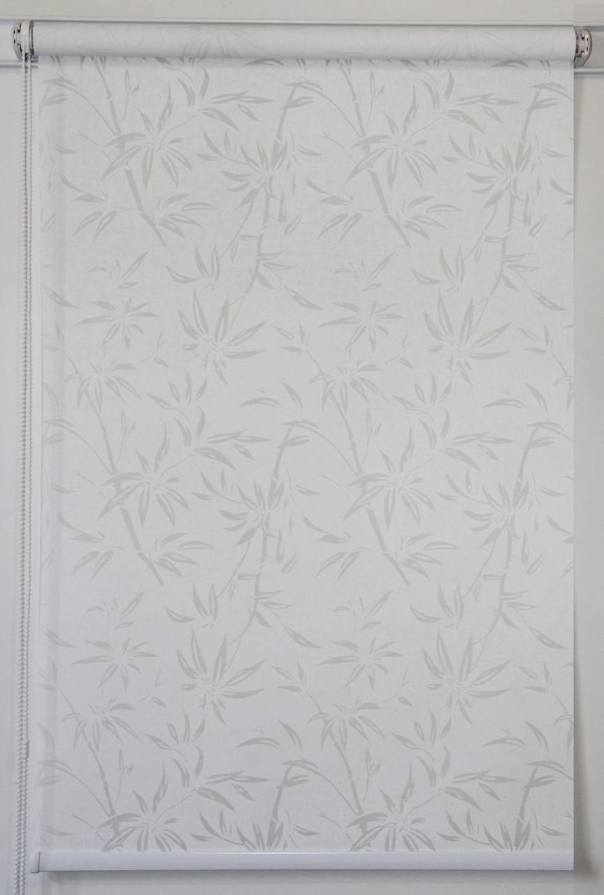 Готовые рулонные шторы 1400*1500 Ткань Бамбук (Квиты 5174/1)