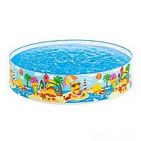 Детский каркасный бассейн Intex «Утинный риф» 58477 (122*25 см)