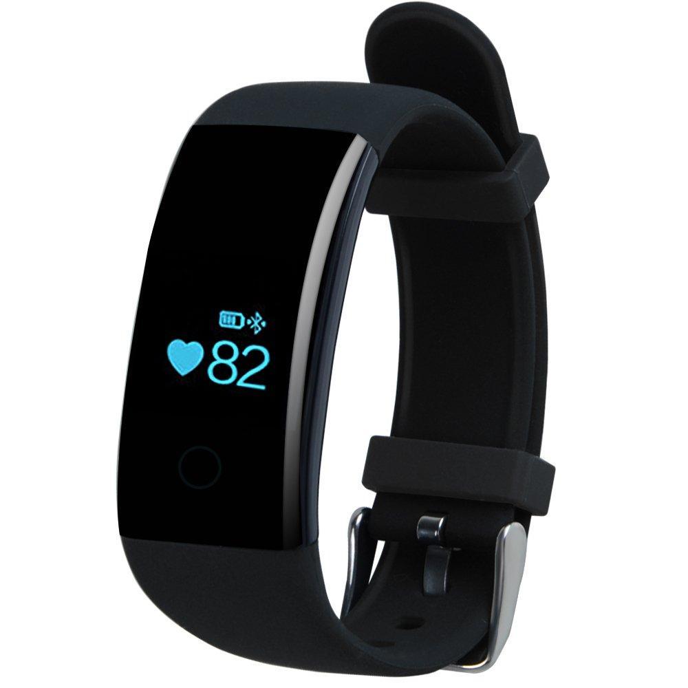 Фитнес-трекер Smart Band ID107 Plus Черный
