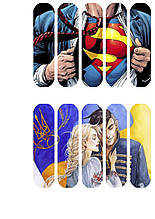 Вафельная картинка для эклеров Супермен
