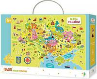 "Пазл DoDo ""Карта Украины"" 300109 Головоломка пазлы для детей!"