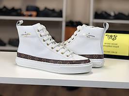 Женские высокие кеды Louis Vuitton
