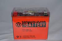 Аккумулятор 12V 10Ah гелевый (150х70х130) YT 12В-4 (оранжевый) BATTERY