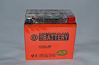 Аккумулятор 12V 5Ah гелевый с датчиком (113х70х107) UTX5L-BS (оранжевый) BATTERY, фото 1