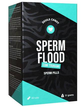 Таблетки для мужчин Devils Candy Sperm Flood, 60 шт, фото 2