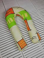 Подушка для беременных и кормящих мам, подкова, кормління дітей, немовлят вагітних матусь ортопедична Вигвам 2