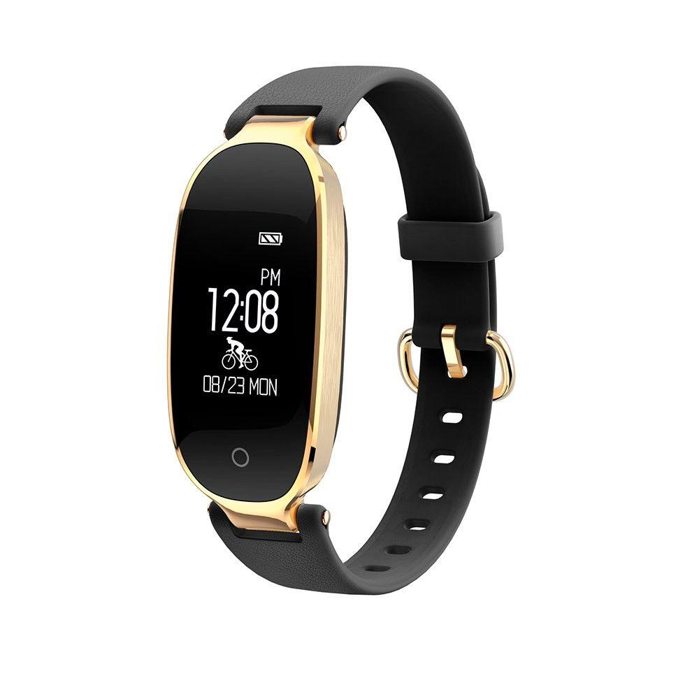 Фитнес-трекер Smart Band S3 Girl Черный с золотым